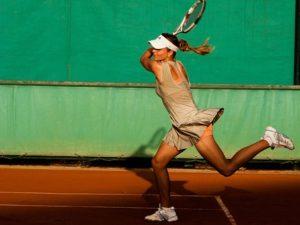 テニスのストロークに関する画像