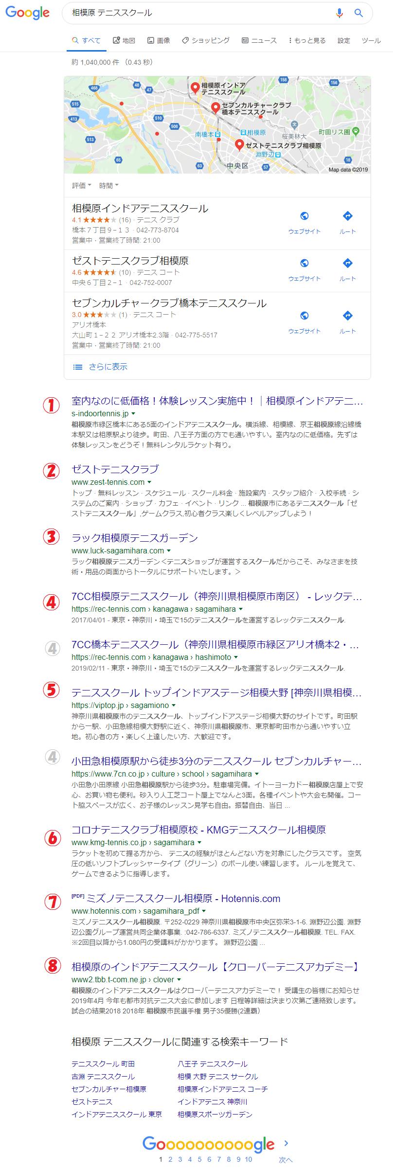 相模原 テニススクール - Google 検索
